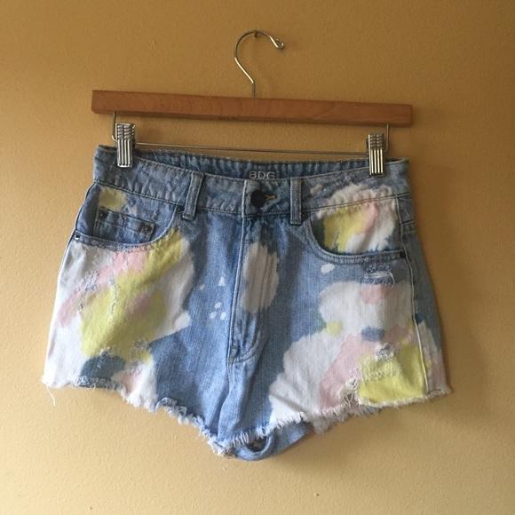 BDG Pants - Bdg distressed cut offs // denim shorts // 27 Dree